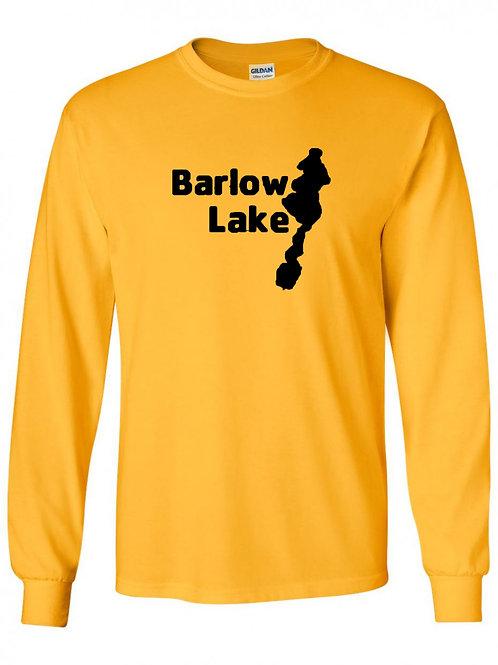 Barlow Lake Black Logo Long Sleeve