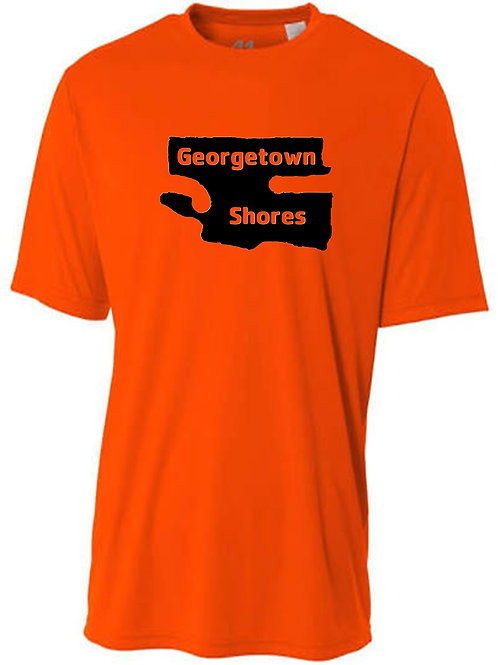 Georgetown Shores Black Logo Sun Tee
