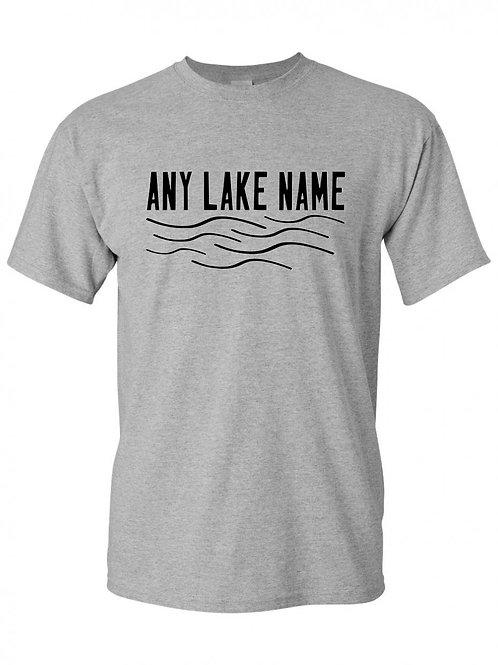 Any Lake Wave Logo T-Shirt