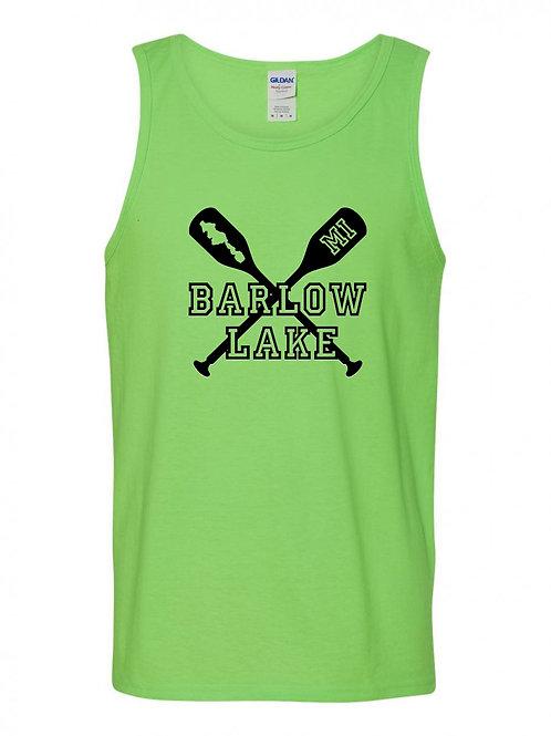 Barlow Lake Oars Tank Top