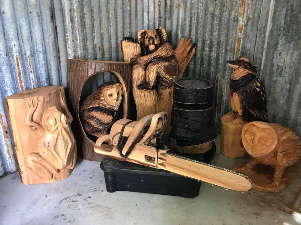 Chemainus artist makes fast work with chainsaw in hand u vancouver