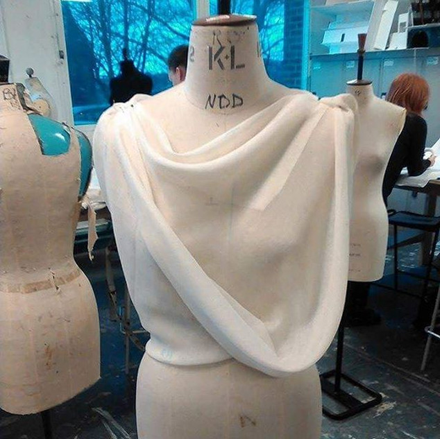 #draping workshop