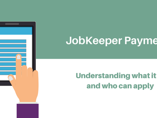Job Keeper Payment Application-Let MAR Advisory assist you