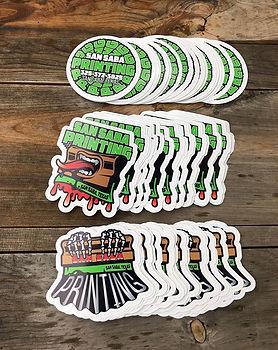 Custom Vinyl Stickers! Stick 'em on ever