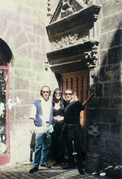 renzo cher and I @ castle
