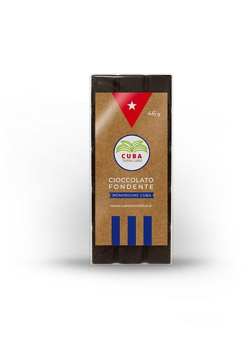 Cioccolato fondente 75% cacao - monorigine Cuba -46gr