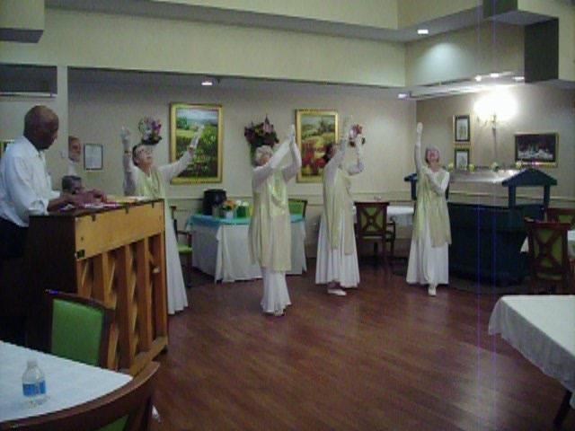 York County Gospel Choir Praise Dancers