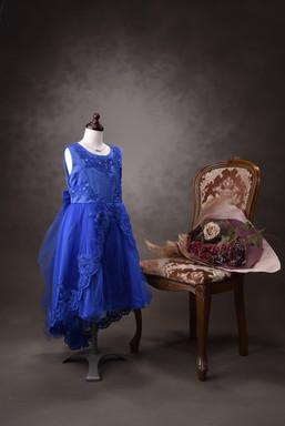 ドレス BLUE
