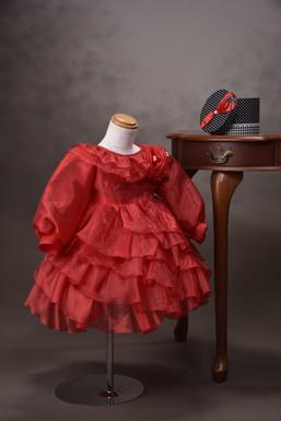 ドレス 赤