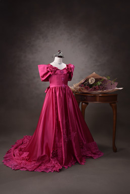 ドレス ピンク