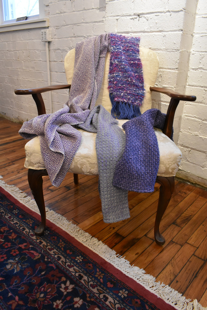 C  Lap Blanket, Scarf  & Table Runners 2