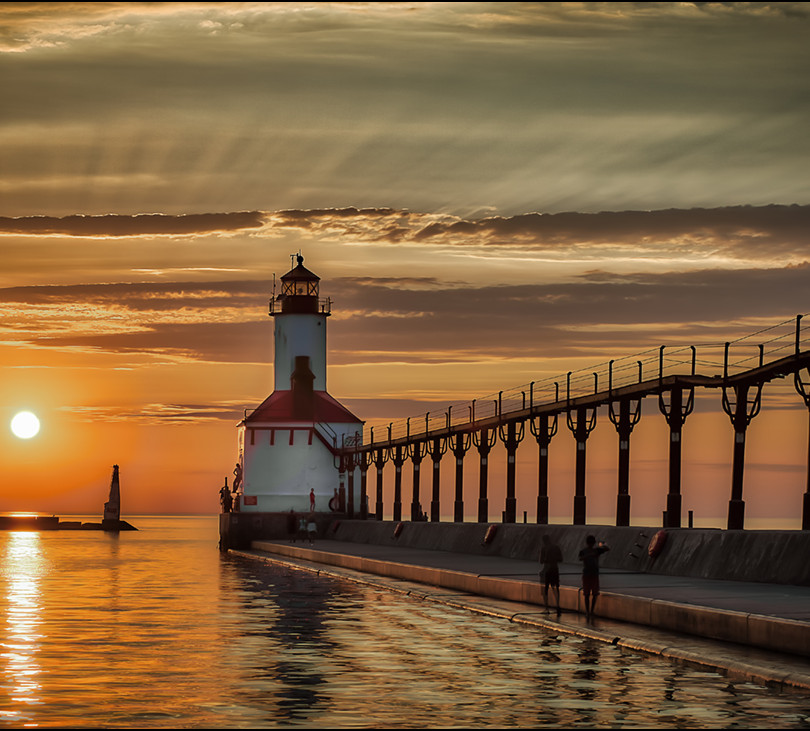 Michigan City Pier Lighthouse