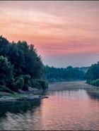 Sunset on Mill Creek