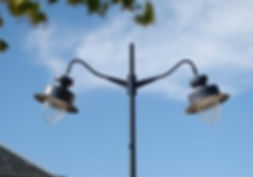 Straatverlichting DE NOOD restauratie