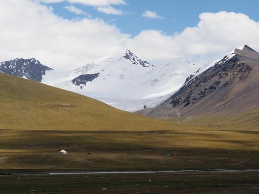 Kirghizistan, confetti celeste