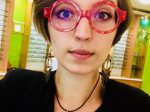 Pauline, la mode et les lentilles !