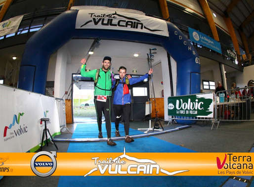 Le Trail de Vulcain 2020, inside...