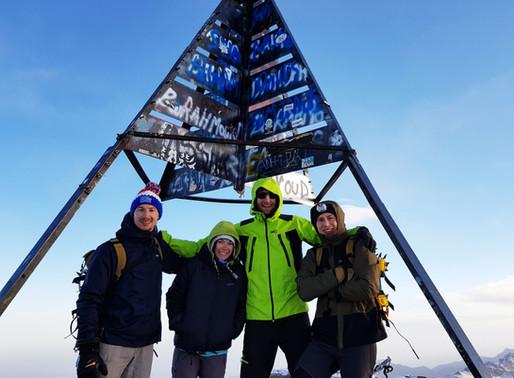Le mont Toubkal - 4167m, Inch-allah