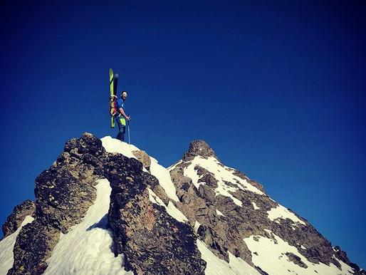 Le ski et l'été indien