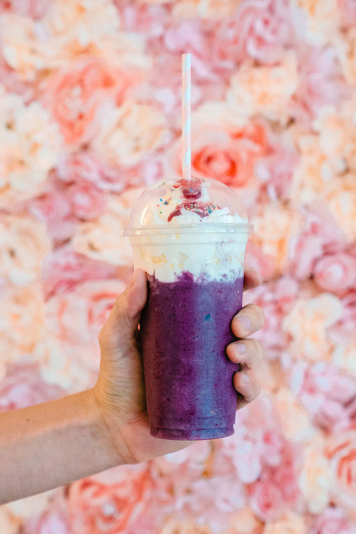 blueberry frappe