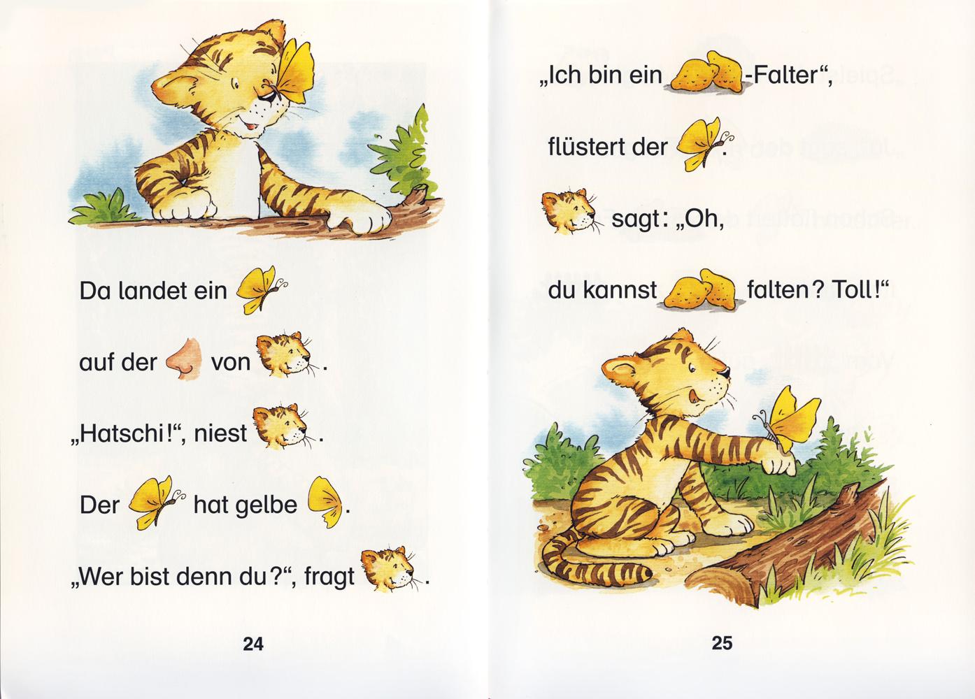Der kleine Tiger findet einen Freund