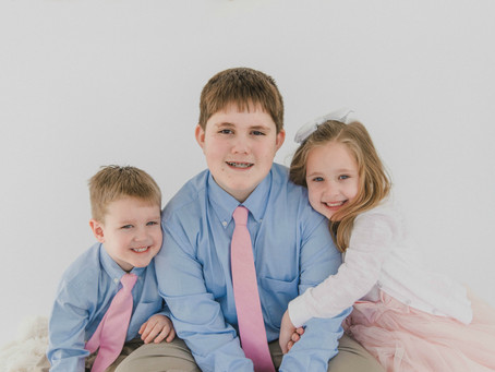 Harner Family Easter Session | Taneytown, MD