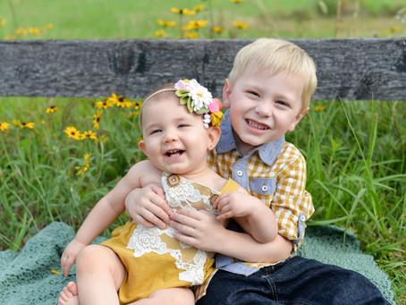Elijah & Aleena | Sibling Session | Gettysburg, PA