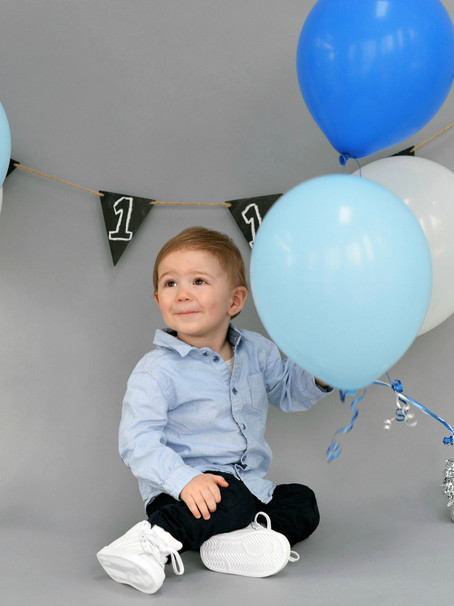 Liam's One Year Session