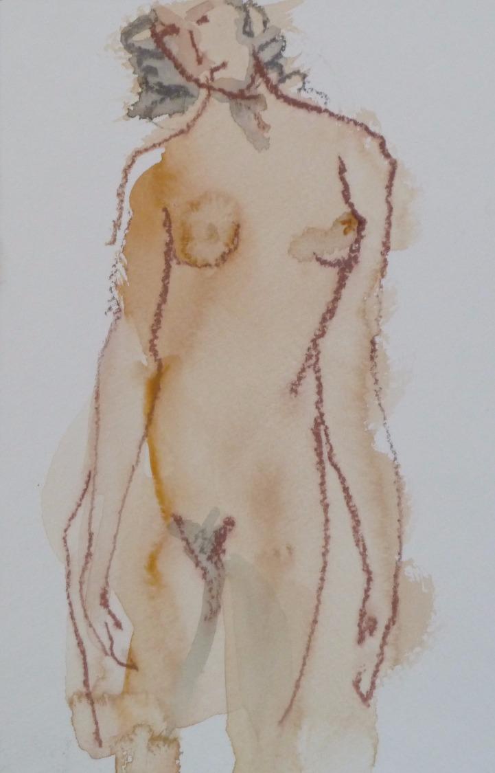 Susan standing