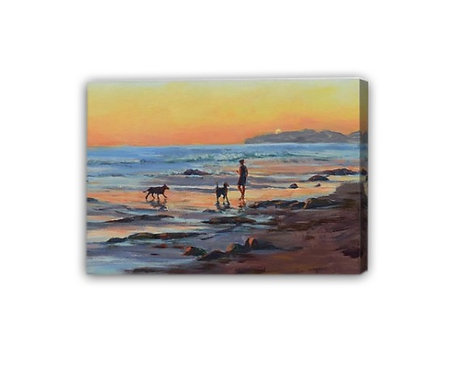 CANVAS PRINT- 'Sunset Bond' cropped