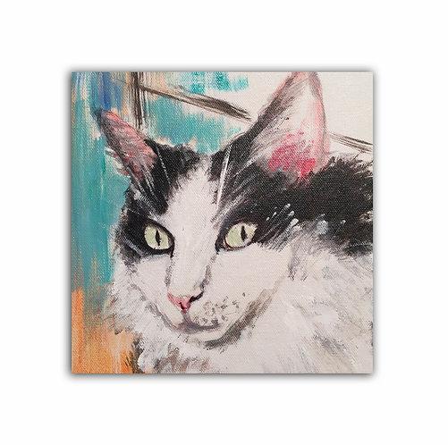 """8"""" x 8"""" Pet Portrait"""