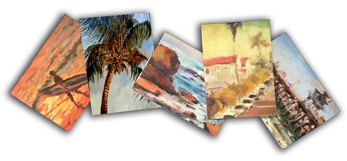 BEACH TOWN COLLECTION Card Set