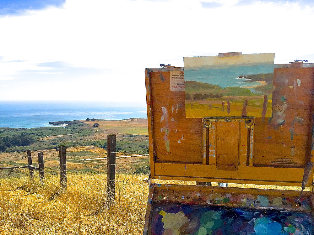 No Trespassing Painting Big Sur