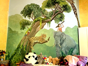 MURAL PROJECT: JUNGLE SAFARI