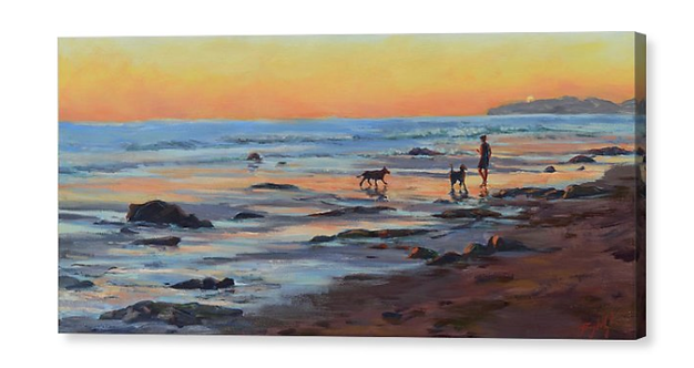 CANVAS PRINT- Sunset Bond