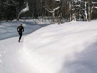 Courir en hiver!