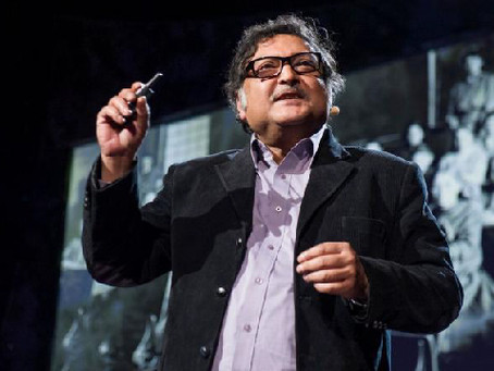 Sugata Mitra on The Child-Driven Education – 1 min read