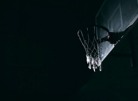 Shooting Baskets in the Dark