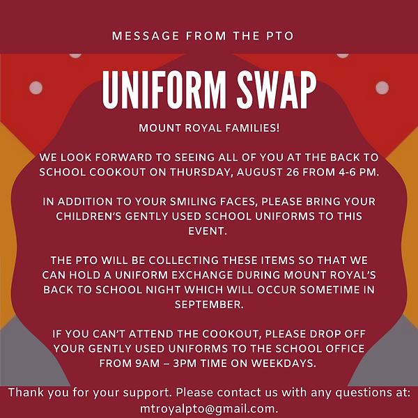 Uniform Swap PTO Announcement.png
