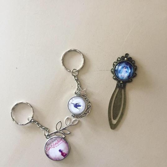 Schlüsselanhänger Whisper (Mitte)