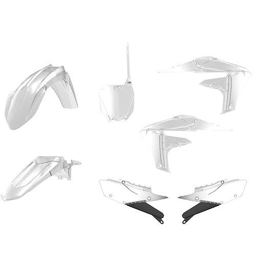 Polisport 90790 Complete Plastics Kit YZ250F YZ450F - Clear 18