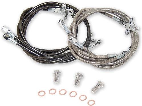 Steel Braided Brake lines - Rear RMZ 250