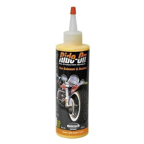 Ride on TPS Motorcycle Tire Balancer and Sealant 8 oz - 41208