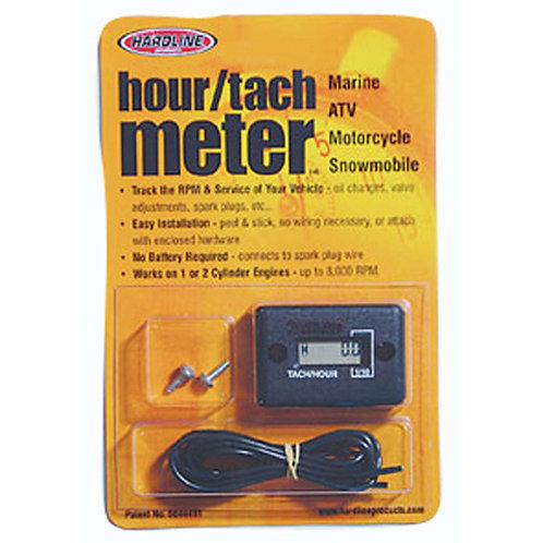 Hardline Wired Hour/Tach Meter HR-8061-2