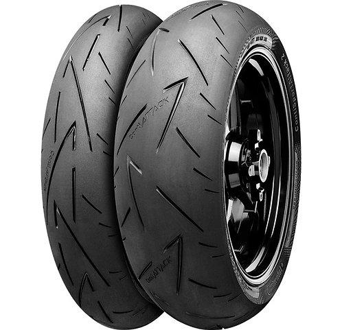 Continental Conti Sport Attack 2 Tire Set - 120/70ZR17, 200/55ZR17