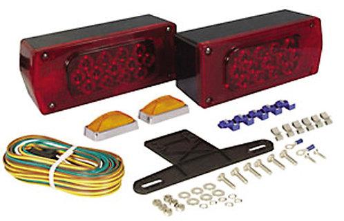 Waterproof LED Aeropro Trailer Light Kit - TLL-36RK