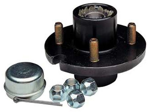 5 Bolt Trailer Hub Kit for 1-1/16' Spindle, 1000lbs HSH56