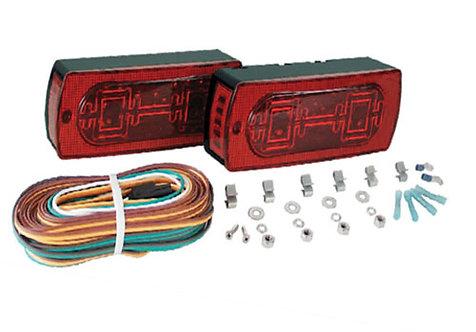 Waterproof LED Trailer Light Kit - TLL-16RK
