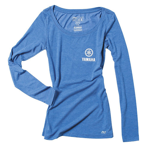 Yamaha Womens Scoop Neck Long Sleeve t-Shirt