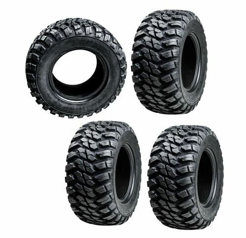 GBC Kanati Mongrel 10 Ply Radial ATV UTV Tire 28x10-14 Set Of Four 4 Tir
